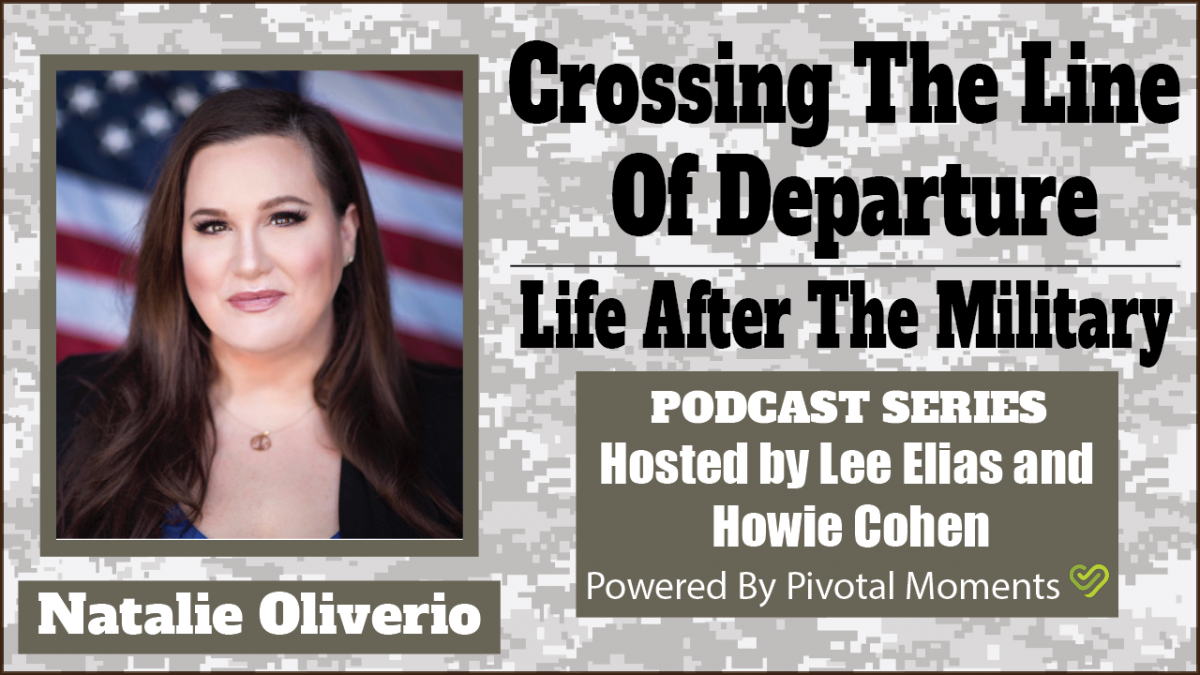 Crossing the Line of Departure: Life After The Military - Natalie Oliverio
